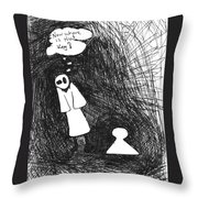 Where Is The Key Throw Pillow