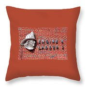 Where It Started Throw Pillow