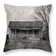 Where Nobody Lives Throw Pillow