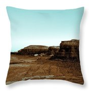 Where Nothing Grows Throw Pillow