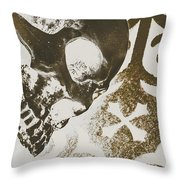 Where Peace Will Be Throw Pillow