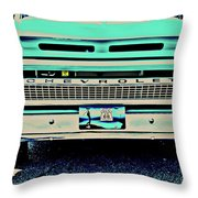 Where Route 66 Meets Chisholm Trail Throw Pillow