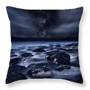Where Silence Is Perpetual Throw Pillow