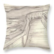 Where The Ashes Are Throw Pillow