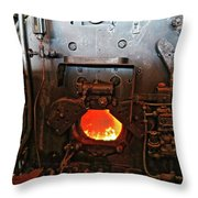Where The Engineer Sits Throw Pillow