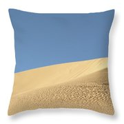 Where The Sand Meets The Sky Throw Pillow