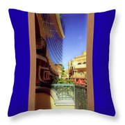 Where The Sky Begins Throw Pillow