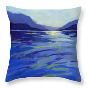Where The Whales Play 1 Throw Pillow