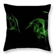 Where There Is Smoke Throw Pillow