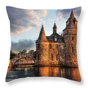 Where Time Stands Still Throw Pillow