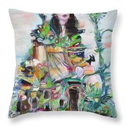 Where We Are King And Queen Throw Pillow