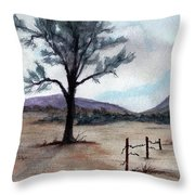 Where  The West Began Throw Pillow