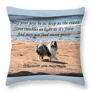 Wherever You May Roam Throw Pillow