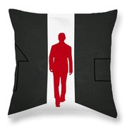 Which Direction Throw Pillow