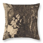 Which One? (lequel?) Throw Pillow