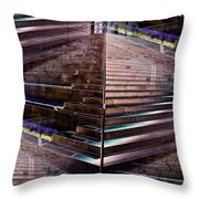 Which Way Up 2 Throw Pillow