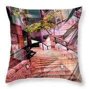 Which Way Up Throw Pillow