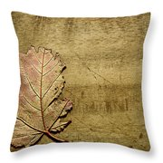 ...while You Fall Apart Throw Pillow