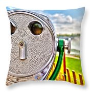 Whimsical View Throw Pillow