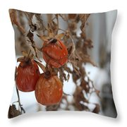 Whimsical Winter Throw Pillow