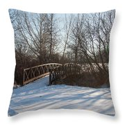 Whimsicle Winter Throw Pillow