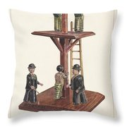 Whipping Post Throw Pillow