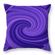Whirlpool Blues Throw Pillow