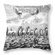 Whirlpool: Maelstrom, 1678 Throw Pillow