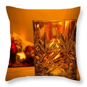 Whiskey In A Glass Throw Pillow