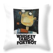 Whiskey Tango Foxtrot Poster Throw Pillow