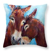 Whisky And Rye Throw Pillow