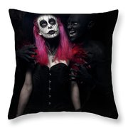 Whisper Of Madness Throw Pillow