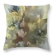 Whispering Bouquet 2 Throw Pillow