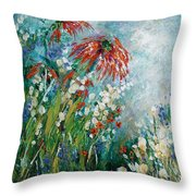 Whispering Charms Throw Pillow