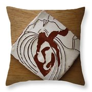 Whispers - Tile Throw Pillow