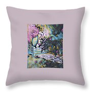 Whispers Of Spring Throw Pillow