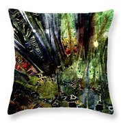 Whispers Of The Forest Throw Pillow
