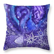 Whispers Of The Soul Throw Pillow