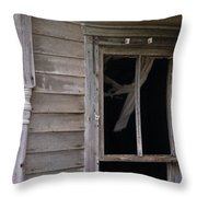 Whispy Ghost Throw Pillow
