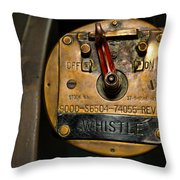 Whistle Switch Throw Pillow