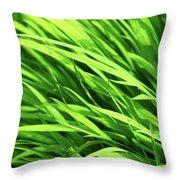 Whistle The Grass Throw Pillow