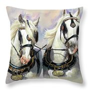 Whitbread Shires Throw Pillow