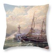 Whitby, 1883 Throw Pillow