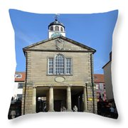 Whitby Old Town Hall Throw Pillow