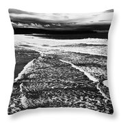 Whitby Sea And Sky  Throw Pillow