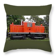 Whitcomb Side Rod Switcher Throw Pillow