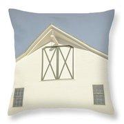 White Barn South Woodstock Vermont Throw Pillow