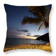 White Bay  Throw Pillow