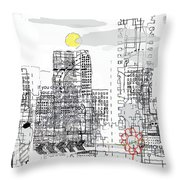 White City Throw Pillow
