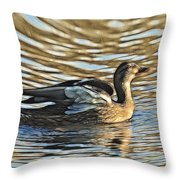 White Feathers Abstract   Throw Pillow
